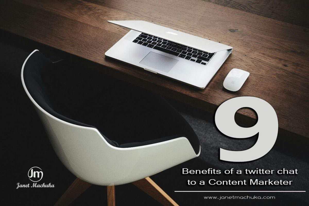 Twitter Chat Benefits to Content Marketers